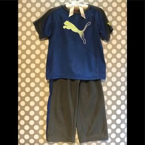 PUMA - Toddler Boy's Activewear Outfit